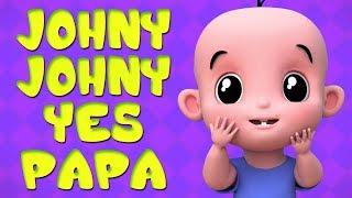 johny johny ใช่พ่อ | คำกริยาสำหรับทารก | เพลงเด็ก | เพลงเด็กไทย  | Johny Johny Yes Papa | Kids Rhyme