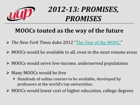 Eileen Landy, MOOCs: Myth and Reality, slideshow, CUNY UFS Online Education Conf, 11/21/14