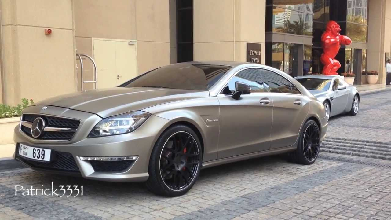 frosted grey cls63 amg v8 biturbo with carlsson wheels. Black Bedroom Furniture Sets. Home Design Ideas