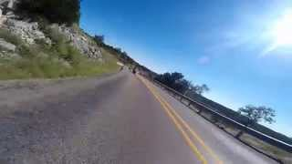 Riding the Three Sisters in the Texas Hill Country - Oct. 4, 2014