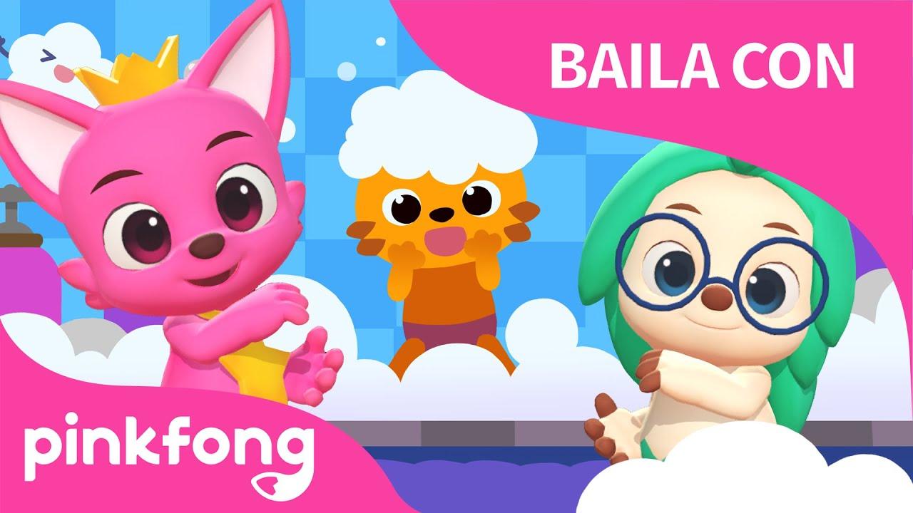 Lavar el Pelo | Bailemos con Pinkfong | Pinkfong Canciones Infantiles