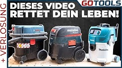 🔥 Nass-/Trockensauger | Staubklasse L | 30-35 Liter | Bosch, Makita und Metabo | inkl. Verlosung