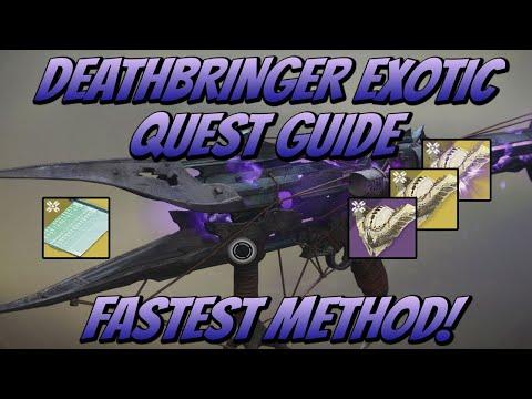DeathBringer Exotic Guide Fastest Method! (Destiny 2 Shadowkeep)