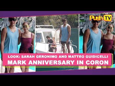 LOOK: Sarah Geronimo and Matteo Guidicelli mark anniversary in Coron