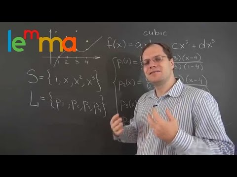 Linear Algebra 12c: Applications Series - Polynomial Interpolation According to Lagrange