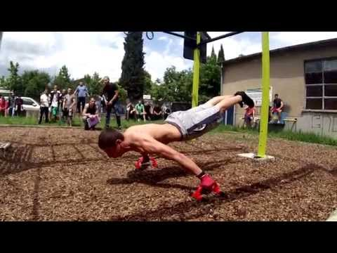 Street Workout Competition Stara Zagora 2014