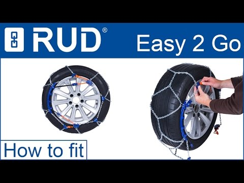 rud compact easy2go snow chain fitting guide youtube. Black Bedroom Furniture Sets. Home Design Ideas