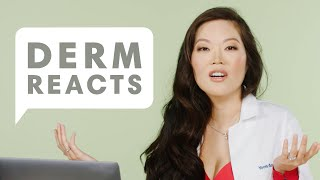 A Dermatologist Reacts to the Go To Bed With Me Comment Section | Derm Reacts with Dr. Cindy Bae