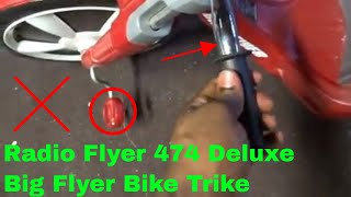✅  How To use Radio Flyer 474 Deluxe Big Flyer Bike Trike Review