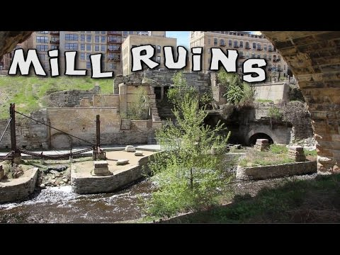 ABANDONED - HISTORICAL MILL RUINS - Mill City Park - Downtown Minneapolis - Matt's Rad Show