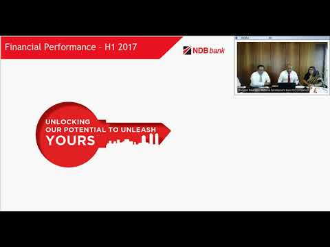 NDB Investor webinar - h1 2017
