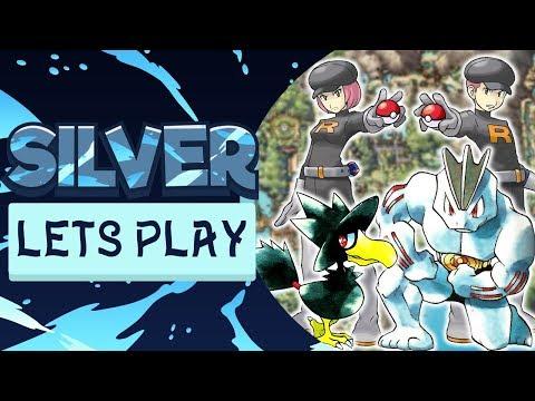 RETURN TO ROCKET HIDEOUT! Pokemon Silver Let's Play #11