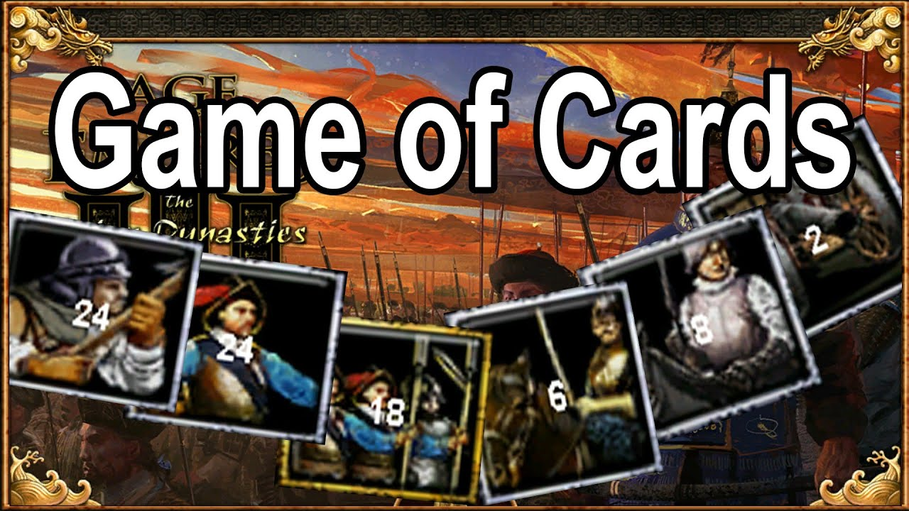 The Age of Empires 3 Cardgame w/ Interjection & H2O