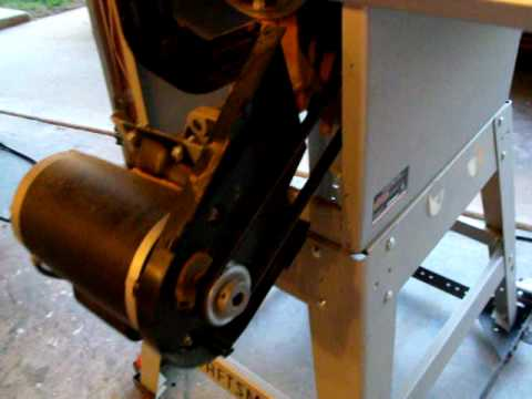 Craftsman table saw 10 align a rip belt driven youtube greentooth Image collections