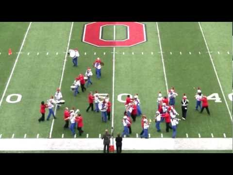 Ohio State School for the Blind Marching Band - Script Braille Ohio - 10-13-2012