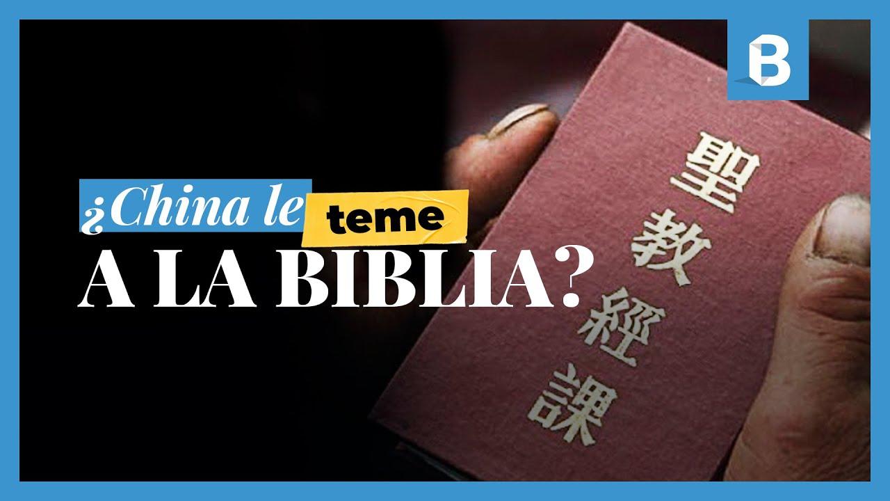 CHINA es el mayor FABRICANTE de BIBLIAS, pero las restringe en su territorio | BITE