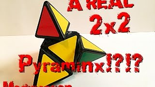 A REAL 2x2 Pyraminx?!?!  My First Puzzle Modification!