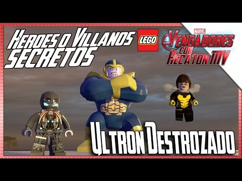 LEGO Marvel Avengers | Desbloquear Personajes | Ultrón Destrozado