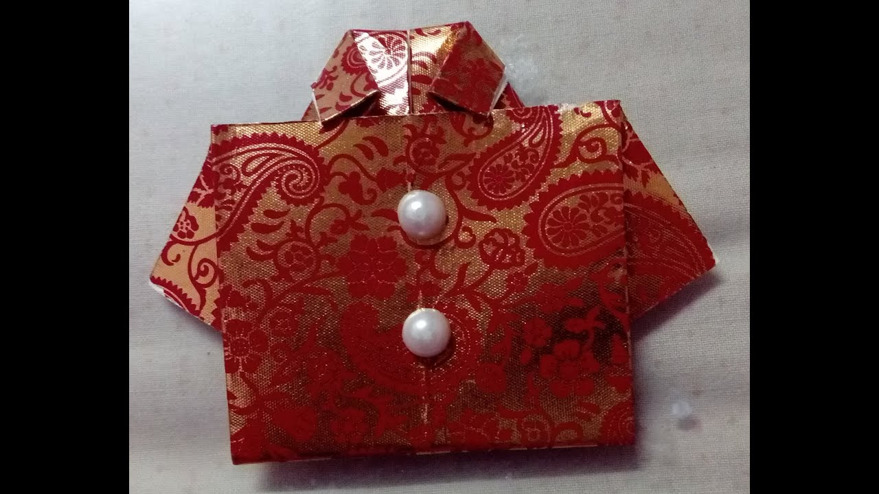 How To Make Shirt Envelope At Home Origami How To Make Envelope At Home Cash Envelopes Lifafa