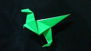 Cara Membuat Origami Dinosaurus Sederhana | Origami Binatang