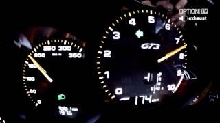 291 km/h with the NEW Porsche 991 GT3 (Option Auto)