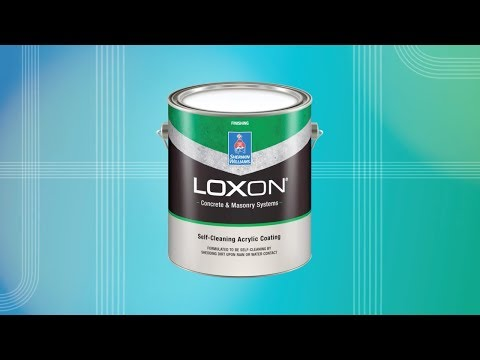 Loxon Self-Cleaning Acrylic Coating - Sherwin-Williams