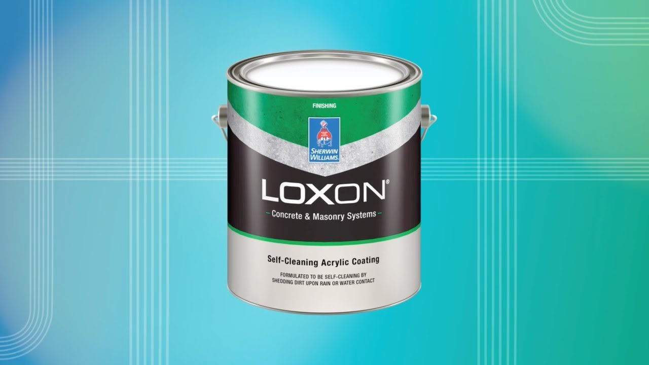 loxon self cleaning acrylic coating sherwin williams youtube