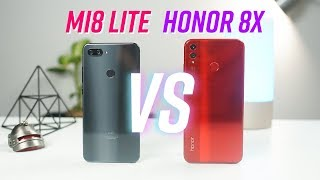 So sánh Xiaomi Mi8 Lite & Honor 8X