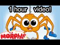 Itsy Bitsy Spider Song ( Incy Wincy Spider ) Nursery Rhymes Songs With Lyrics And Action - Morphle video