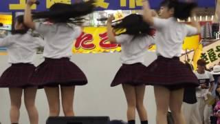 2016-07-09 松山市中央商店街の土曜夜市のステージ、アイキューン On st...