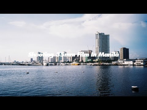 Shooting 35mm Film In Manila