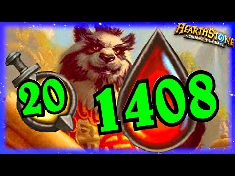 1408 Cho Show ~ Hearthstone Heroes of Warcraft Blackrock Mountain new Decklist
