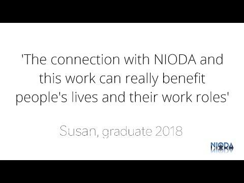 Susan, graduate 2018, Benefit