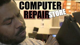 ASMR Computer Repair STORE Roleplay   Keyboard Typing   Ambience