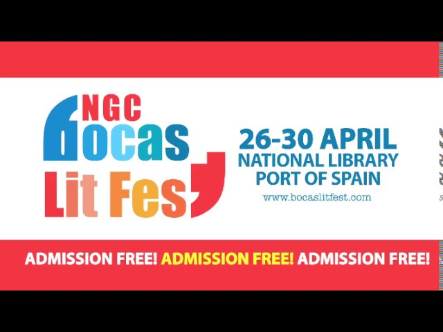 Invitation to NGC Bocas Lit Fest – April 26-30 2017