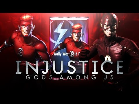 INJUSTICE MOBILE - METAHUMAN FLASH + WALLY WEST REBIRTH PACK OPENING