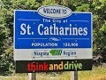 St. Catharines, Ontario: Driving Around Downtown In 2017