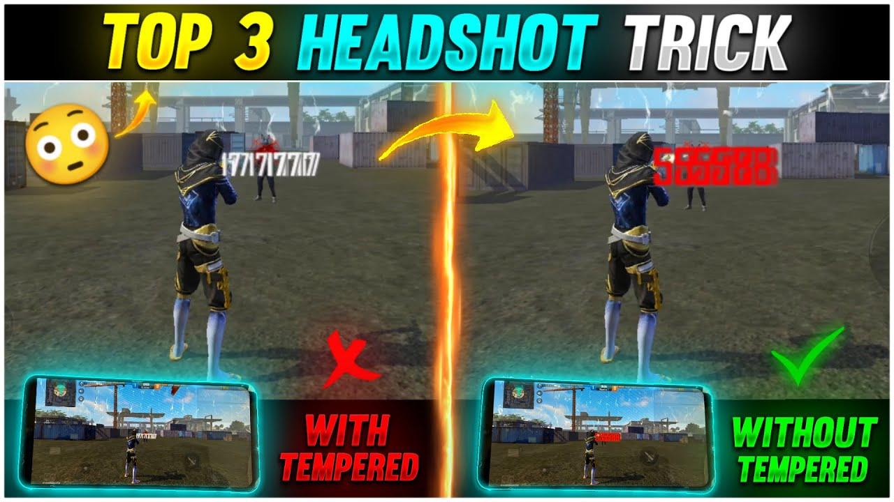 Download Top 3 Latest Oneshot Headshot Trick For Desert Eagle Free Fire [Hindi]    New Secret Oneshot M1887