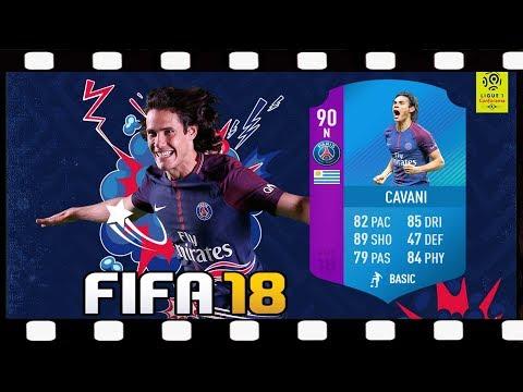 Zagrajmy w FIFA 18 SBC EDINSON CAVANI  Składamy całą LIGUE 1 + walka na banery 💥