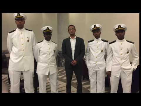 SOMALI STUDENTS AT MILITARY ACADEMY IN ISTANBUL