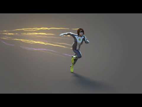 Nora Allen 3D Model SHOWCASE + New Improved Lightning Method