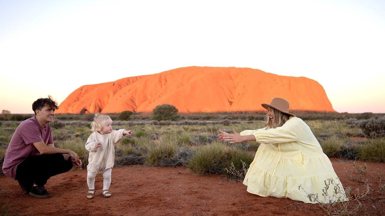 Baby Learns to Walk in the Australian Outback