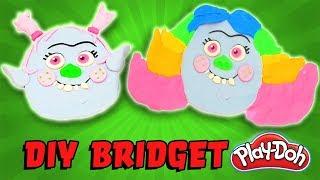 Trolls Movie Bridget Makeover Kids DIY Play-Doh Art Portrait! Featuring Branch and Queen Poppy