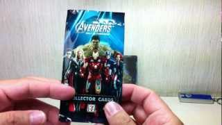 Avengers Movie Trading Cards from 7-Eleven