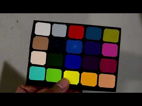 Color Card - Make it yourself ( TODAY )