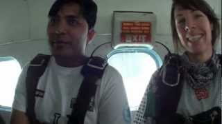 Skydive Dubai Jump for yemen 18th feb 2013 Chetan Prakash Chintoo
