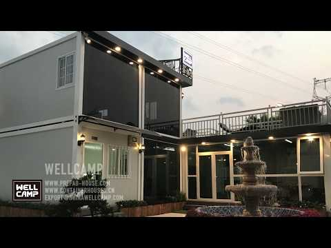WellCamp Prefab House New Sample Container Office Container Home prefab house supplier