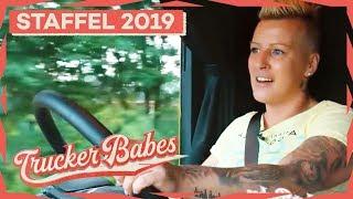 Janas erste Tour im ihrem neuen Truck