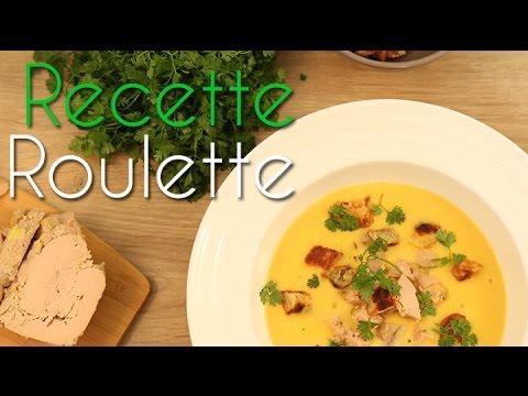Crème de courge et foie gras
