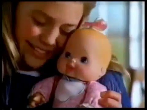 comercial muñeca bebe golosita 1996-2000